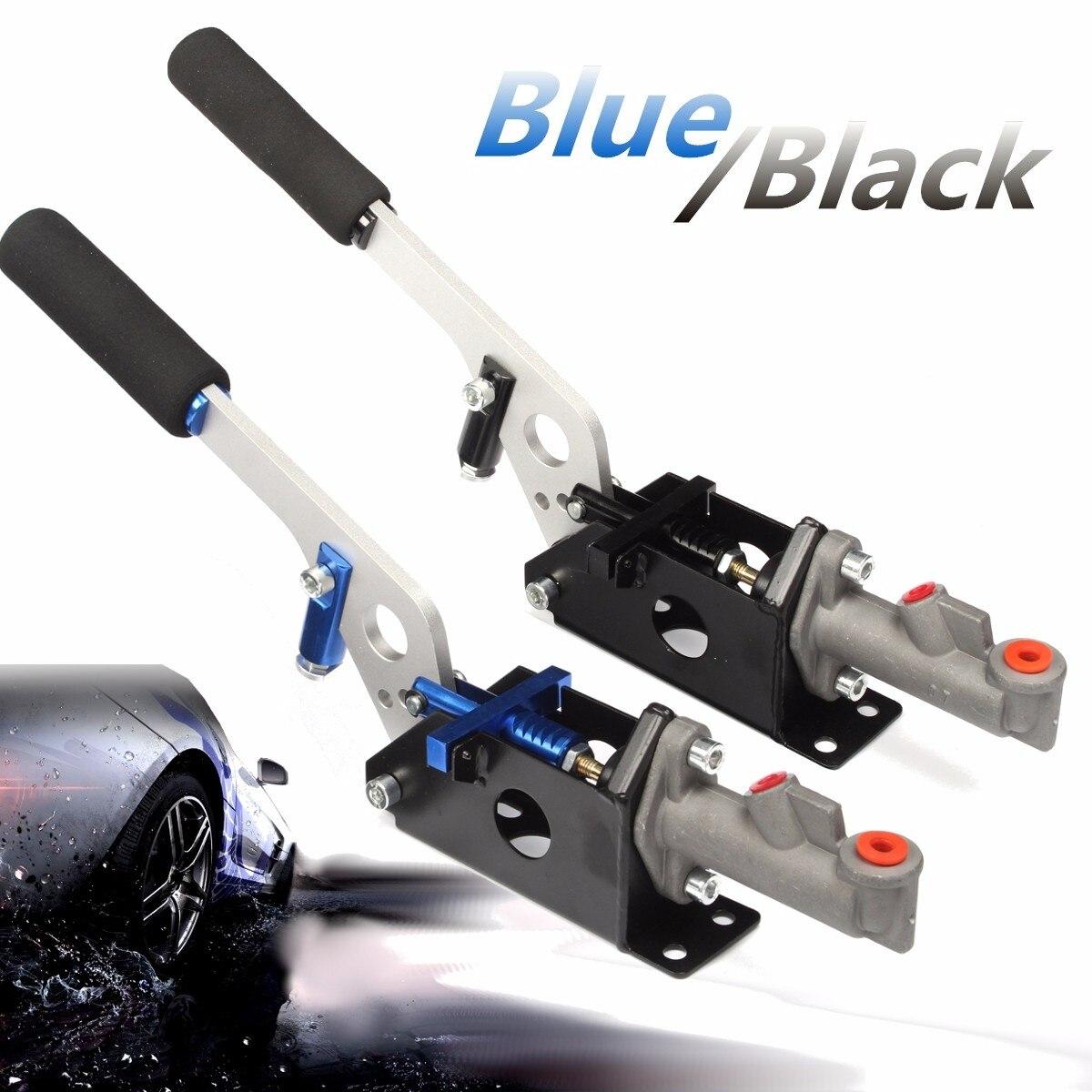 Noir/bleu universel hydraulique Horizontal course dérive frein à main E frein Parking frein levier
