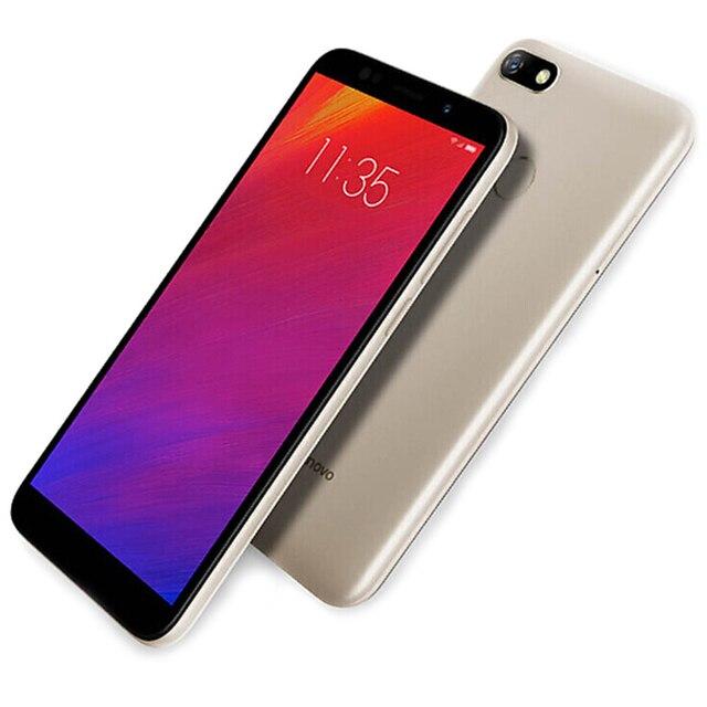 Lenovo A5 4G Smartphone 5.45 inch Android 8.1 MT6739 Quad Core 1.5GHz 3GB RAM 16GB ROM 13.0MP Fingerprint 4000mAh Global Version 4