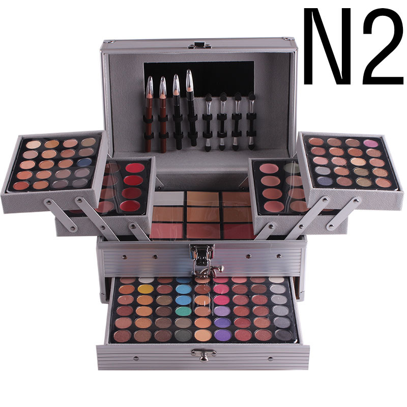 Professional Makeup Kit sets Eyeshadow Blushers Cosmetic Case Full Pro Makeup Palette eyeshadow highlighter Bronzer Brushers
