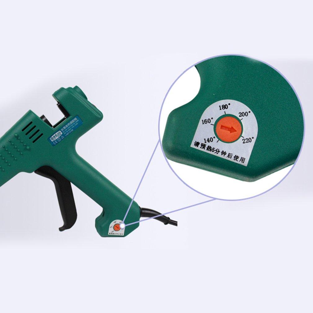Glue Guns La813100 100w Hot Melt Glue Gun For Metal/wood Working Glue Stick Industrial Guns Thermo Electric Heat Temperature Tool