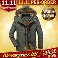 UNCO&BOROR Winter jacket men plus size M~6XL 7XL Men`s Detachable Fur Hooded Coats Casual male outwear Thick long <font><b>Parka</b></font> Coat