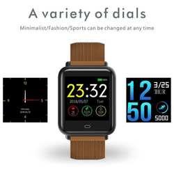 Q9 спортивные Смарт часы браслет «Умные» часы для мужчин и женщин дети IP67 Водонепроницаемый Smartband фитнес трекер IOS Android