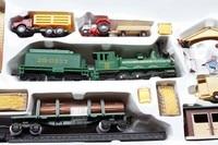 1/87 Electric Train Model Plastic Toy HO Rail Train Kit Sand Table Model Toys For Children Free Shipping