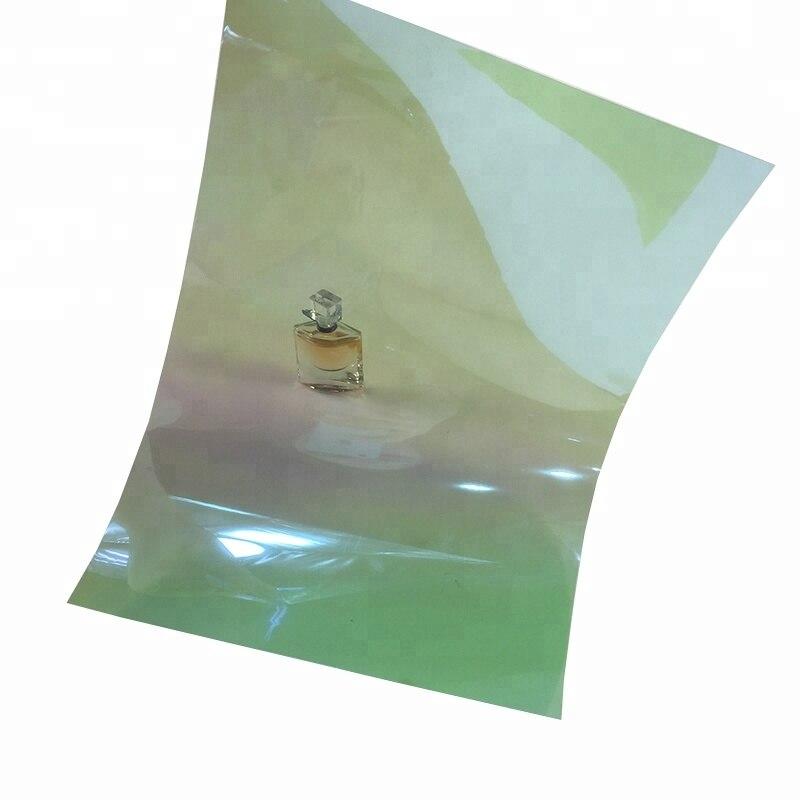 50 cm X 300 cm haute qualité amovible transparent transparent VTL 60% caméléon voiture teinte film de fenêtre