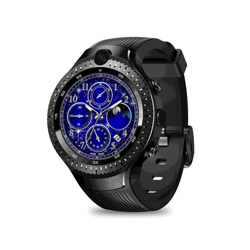 Zeblaze THOR 4 double 4G Smartwatch 5.0MP + 5.0MP double caméra Android montre 1.4