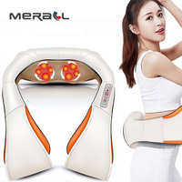 Electric Heating Neck Massager Car Home Infrared KneadingTherapy Relaxation Muscle Stimulator Physical Therapy Beauty Instrument