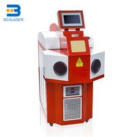 China famous factory qualified 400W jewelry laser spot welding machine for gold silver rings necklaces dental precise welding