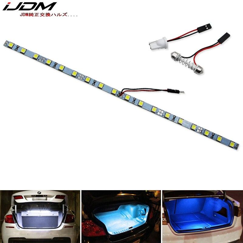 IJDM автомобиля T10 W5W светодиодный 12V DE3175 DE3022 6411 C5W светодиодный для BMW Hyundai Jeep Kia Mazda багажник багажном отделении или внутреннее освещение