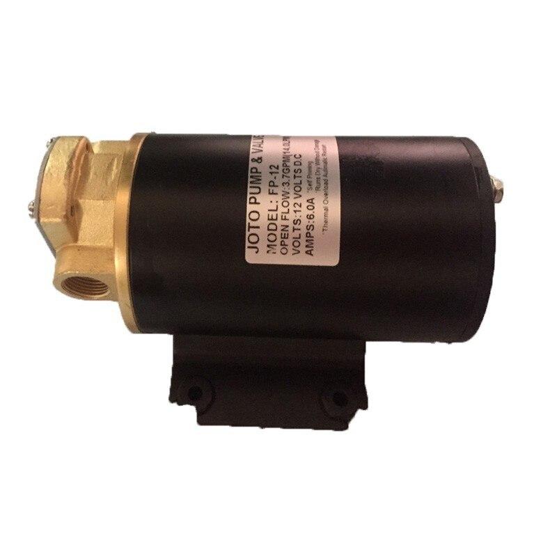 FP 12 самовсасывающий насос дизельный масляный насос 12L/мин 12В насос для перекачки топлива - 2