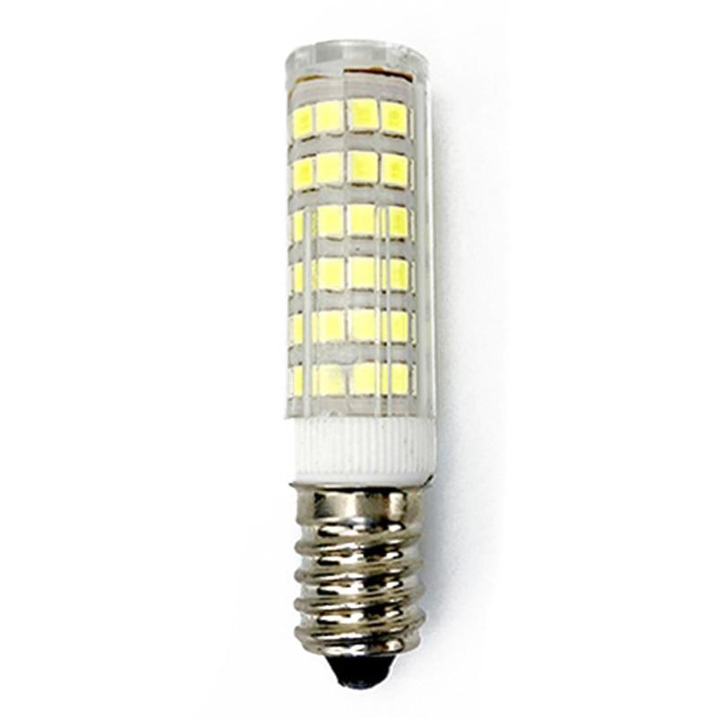 E14 7W White LED Light Bulb Corn Light Bulb 220V Energy Saving AC/ DC Lamp For Kitchen Range Hood Chimney Fridge CookerE14 7W White LED Light Bulb Corn Light Bulb 220V Energy Saving AC/ DC Lamp For Kitchen Range Hood Chimney Fridge Cooker