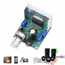 /DC 2.0 Single Power Supply Audio Amplifier Board Module Dual Channel stereo Module цена