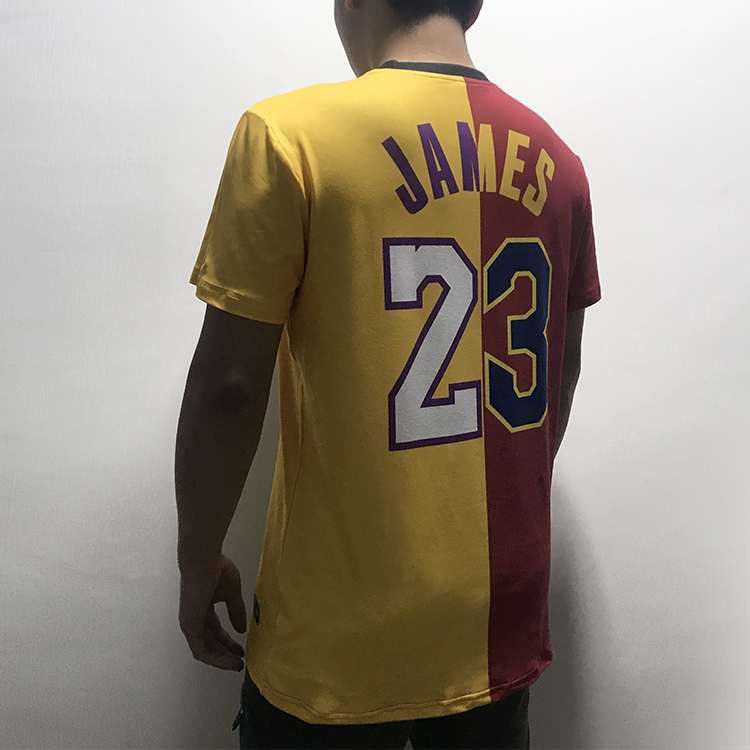 6d6aea058f32 Dpoy original lebron james Tee shirt lakers mixing cavalier basketball  sport t shirt for men kid women Quick drying breathable-in T-Shirts from  Men's ...