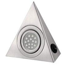 Newest LED Closet Cabinet Lamp Kitchen Under Cabinet Lighting Triangle