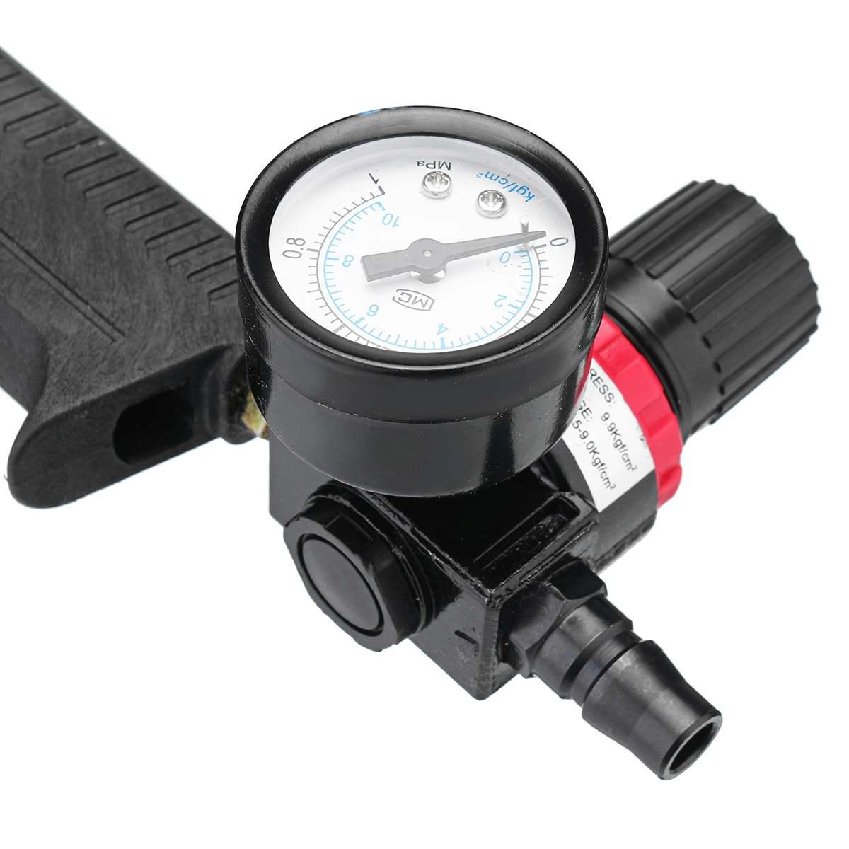 310 ML Pistolet à Calfeutrer à Air/Cartouche Pneumatique Distributeur Mastic Silicone Applicateur Collage De Verre Outil Voiture Fenêtre Kit D'entretien - 5