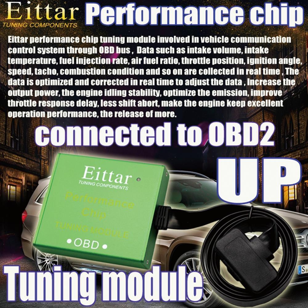 OBD2 OBDII performance module de réglage de la puce excellente performance pour Ford E-450 châssis dénudé Super résistant (E-450 - 2