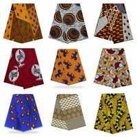 Nigeria Wax tissus African Wax Print Fabric tissus Best 6yard/lot African Print Fabric 6Yard Cotton tissus Wax Fabric
