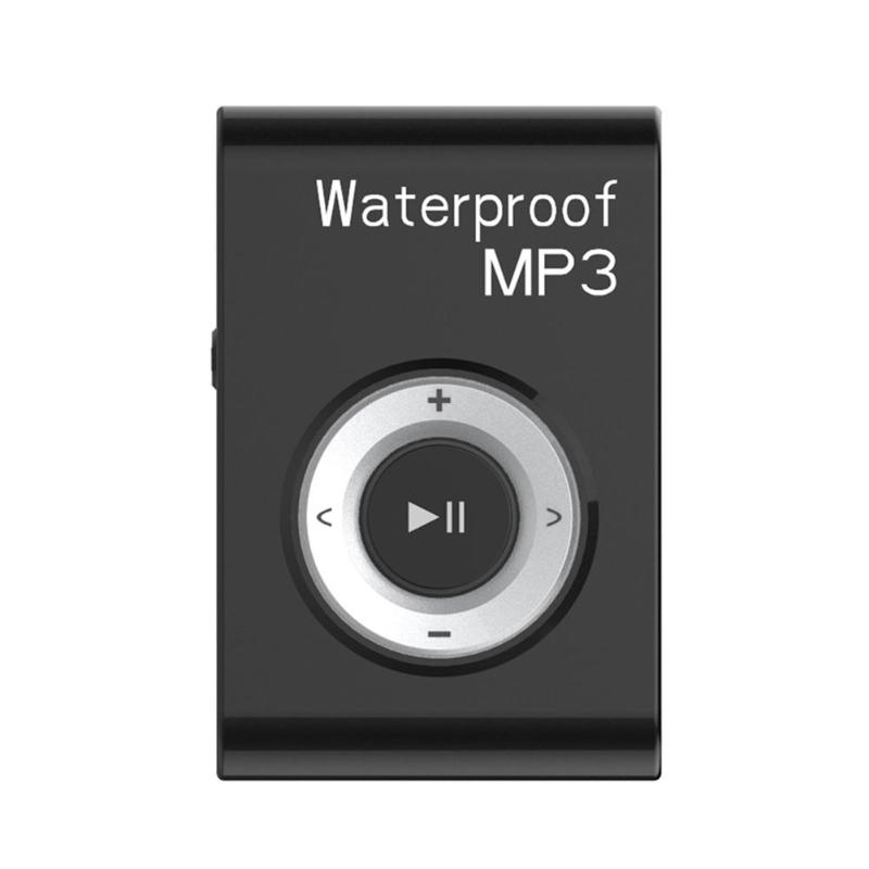 Mini Waterproof Swimming MP3 Player Sports Running Riding HiFi Stereo Music MP3 Walkman With FM Radio Clip