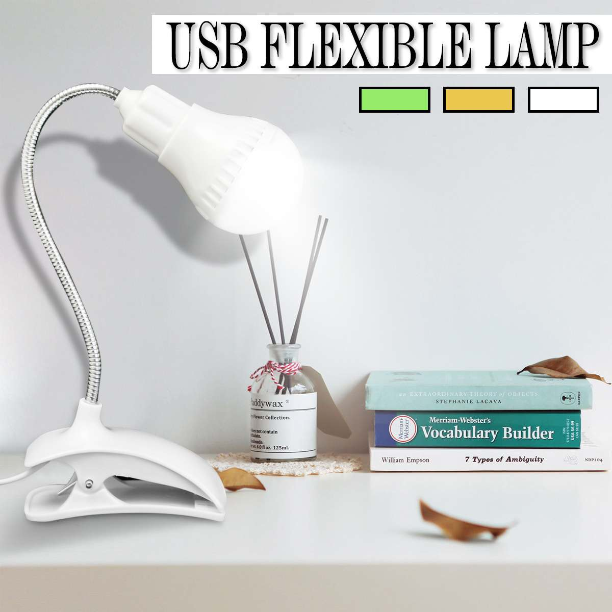 Book Lights Brave Rechargable Mini Flexible Usb Desktop Lights Clip-on Table Lamp Pc Led Lamp Reading Study Bed Laptop Night Lighting High Resilience