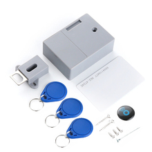 Ic-Card-Sensor Smart-Lock-Battery Digital-Lock Cabinet Drawer RFID Perforate-Hole Intelligent