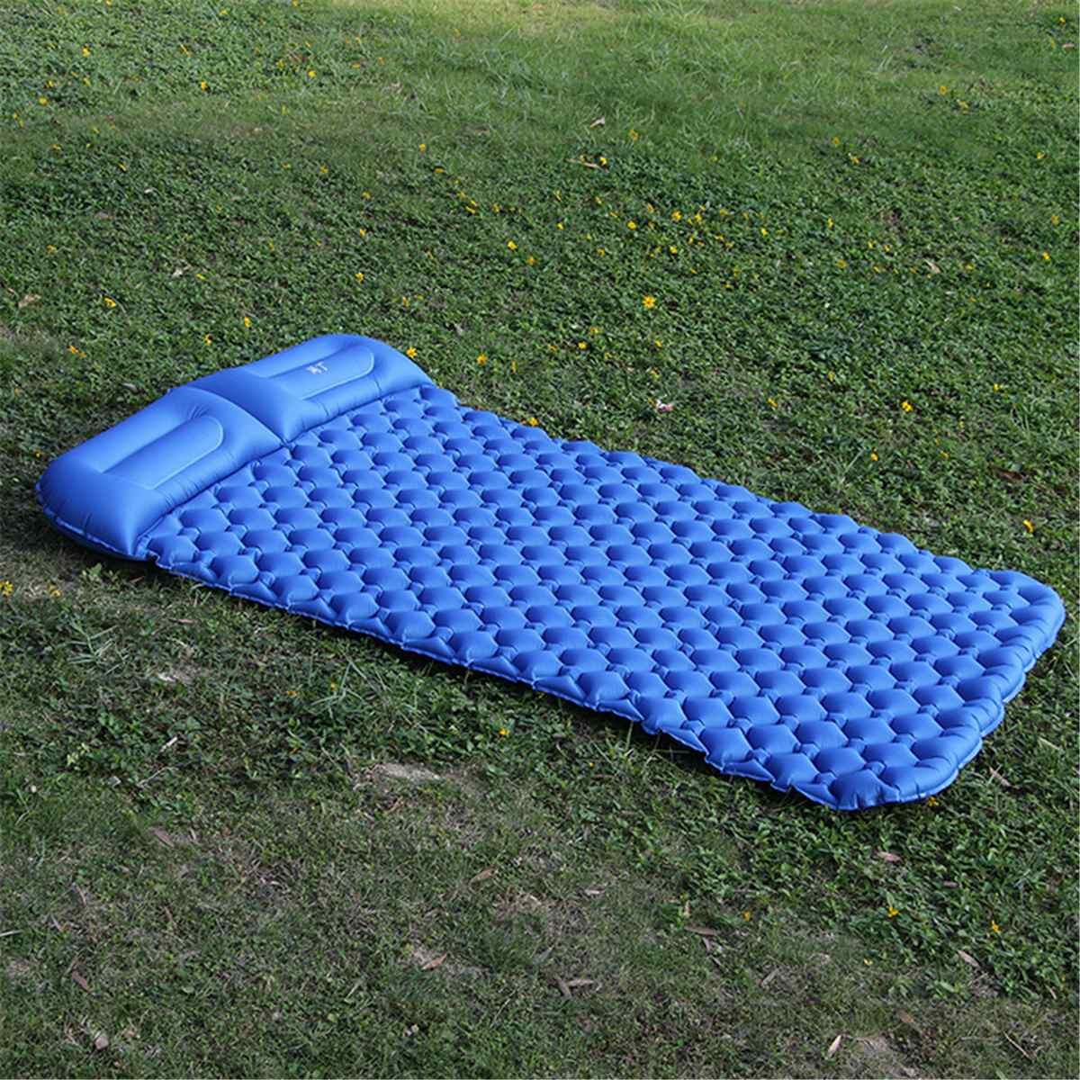 Tente Air Camping tapis Double coussin gonflable extérieur 2 personne pique-nique plage deux Plaid couverture bébé Pad maison repos doux matelas