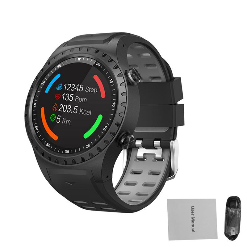 SMA-M1 GPS sport montre Bluetooth appel multi-sports Mode boussole Altitude Sports de plein air montre intelligente appel & Msg rappel Bracelet