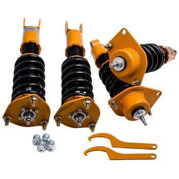 Полностью регулируемая заслонка Coilover Подвеска для Mazda RX8 RX-8 2004 2006 2007 2008 2009 2011 амортизатор