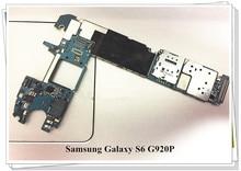 Unlocked Original 32GB mainboards For Samsung Galaxy S6 G920P mainboards Clean IMEI Free shipping стоимость
