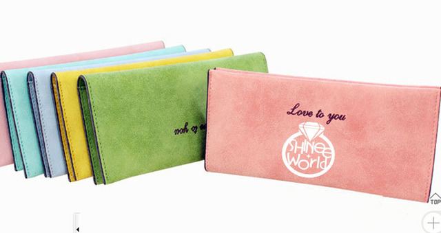 [MYKPOP]SHINee Wallet Nubuck Wallet KPOP Fans Collection 4 Colors For Choices SA18050709