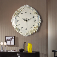 Quartz silent Wall Clock vintage home Decor Loft Living Room kitchen European decorative room Hotel restaurant watch