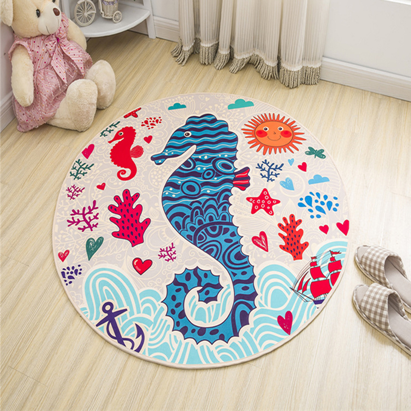 Baby Crawling Play Mat Bedroom Decor Soft Floor Kids Rug Bathroom Carpet Chair Pad Anti-slip Blanket Toys for Children's Mat