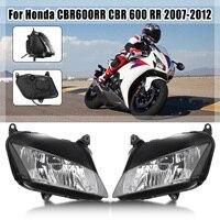 for Honda Cbr 600Rr Motorcycle Headlight Head Lamp For Honda Cbr600Rr 07 2008 2009 2010 11 2007 2011 Cbr600 600 Rr Styling