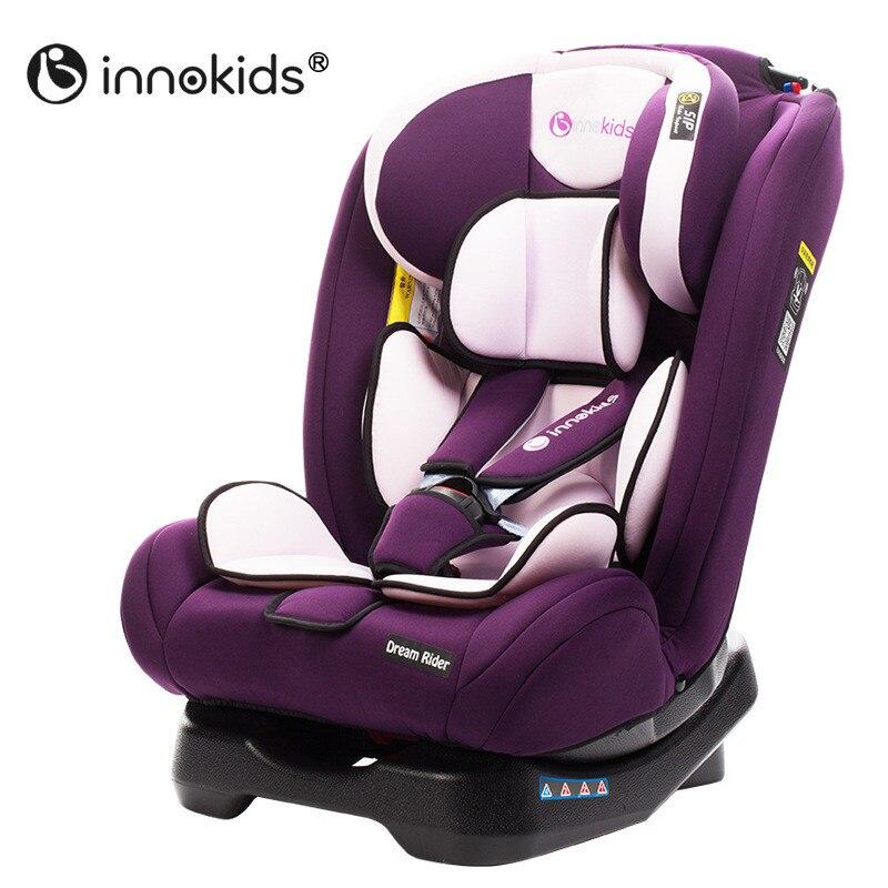 Innokids siège de sécurité enfant siège auto bébé Installation bidirectionnelle de l'interface Isofix de 0-7 ans siège de sécurité bébé nouveau 3C