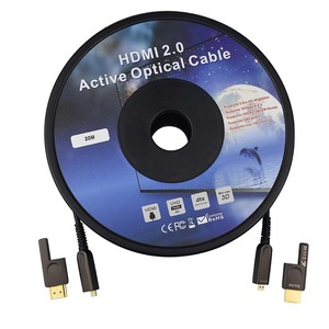 Image 5 - HDMI และ Micro HDMI ที่ถอดออกได้ Optical Fiber HDMI HDMI 2.0 สายเคเบิล 4K 60Hz 10m 20m 30m 50m 100m สำหรับ HDR TV LCD โปรเจคเตอร์แล็ปท็อป PS4