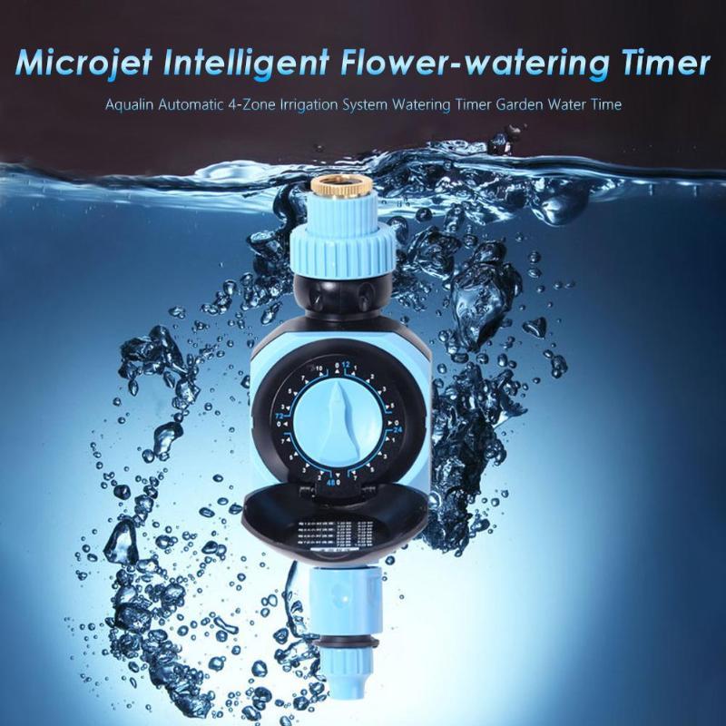 Controladores de Irrigação jardinagem Temporizador de Rega Automático Eletrônico de Água Temporizador Casa Inteligência Digital Sistema de Rega|Temporizadores de água no jardim| |  - title=