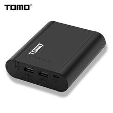 TOMO P4 inteligentna ładowarka sieciowa 5V 2A etui na Powerbank C4 X 18650 akumulator litowo jonowy przenośna ładowarka DIY Powerbank Box na 18650 baterii