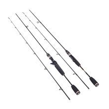 Soft 100% Carbon Lure Baitcasting Fishing Rod Travel Ultra Light UL Ac