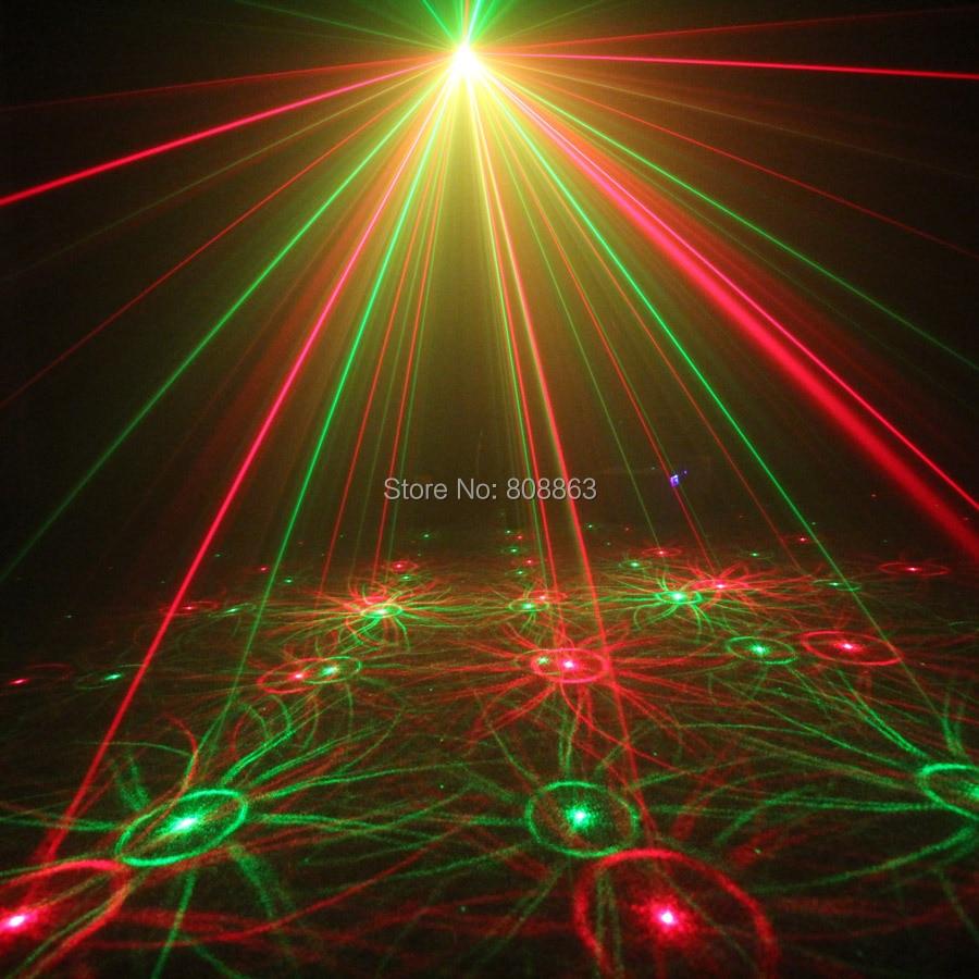 ESHINY Mini 4in1 Effet de Modèle R & G Audio Star Projecteur Laser - Éclairage commercial - Photo 3