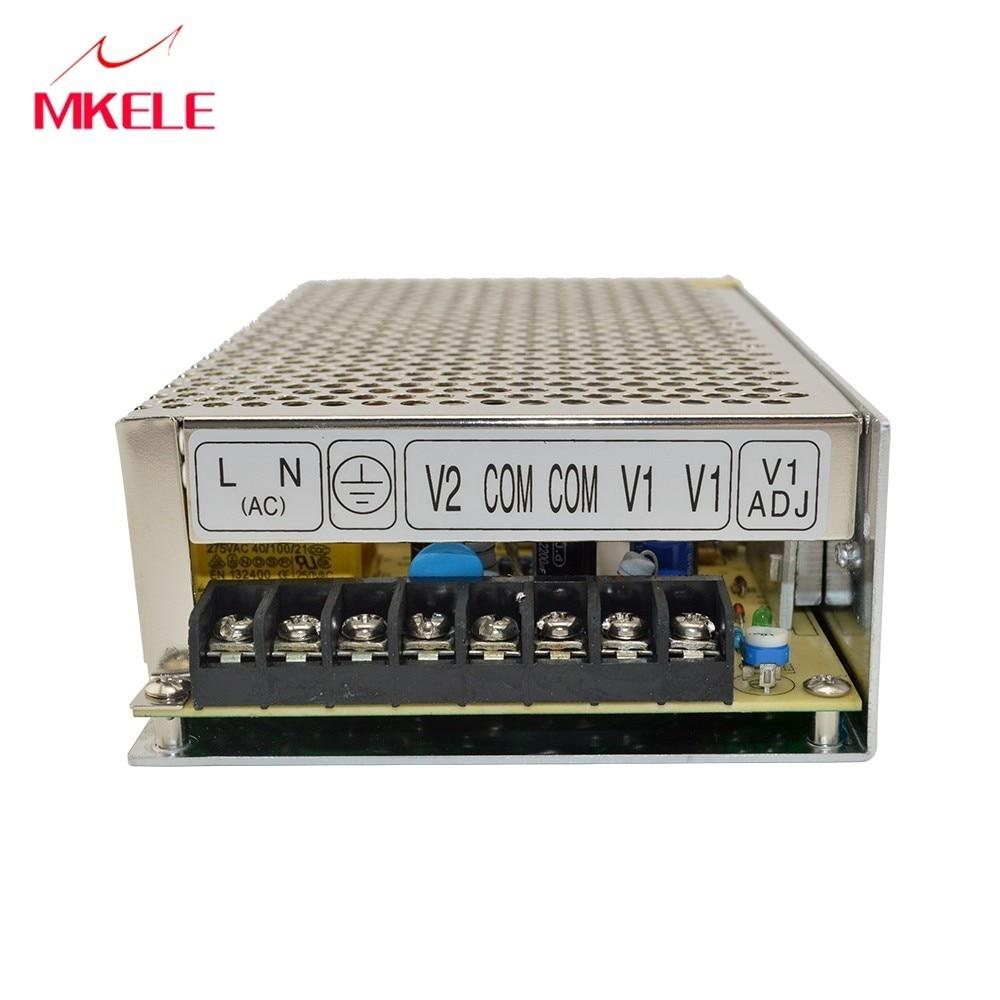 Qualité supérieure Double Sortie 12 Volts Commutateur alimentation 120 W 24 V D-120C AC-DC Convertisseur De Chine