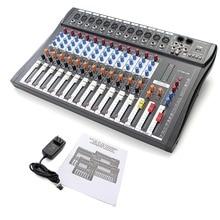 1300 Watt 2 Kanal Digital Verstärker Mixer 12 Weg Bluetooth Audio Sound Mischpult Ausrüstung High Power Professionelle Dj Unterhaltungselektronik 1300 Watt Professionelle Audiogeräte