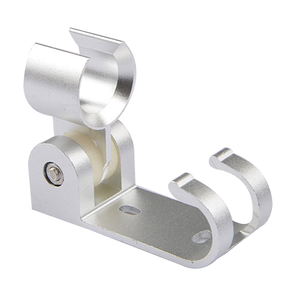 1pcs Shower Base Space Aluminum Adjustable Hook Rust-proof Fixed Multifunctional Shower Seat Shower Hose Bracket For Bathroom
