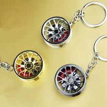 Fashion Current men and women Auto Metal Turbine wheel Keychain key ring  key chain For BMW cd34c73d5a