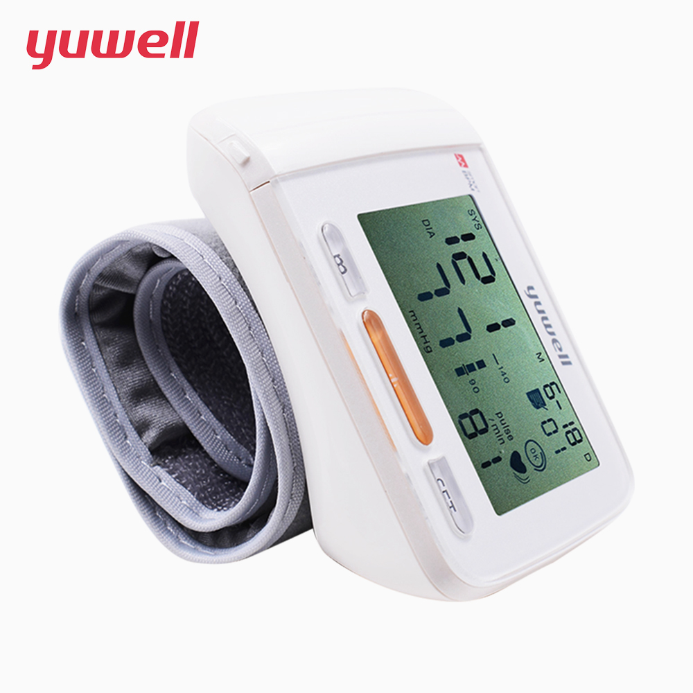 English Instruction Wrist Blood Pressure Monitor Medical Health Equipment Blood Pressure Meter Diagnostic tool W2013SPC