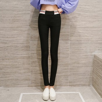Korean Style Spring High Waist Pencil Pants 1