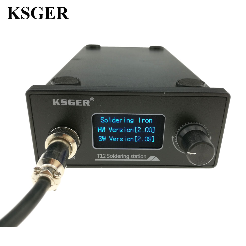 Image 5 - KSGER T12 Soldering Iron station STM32 OLED DIY Kits Solder Electric Tools Welding Iron Tips Temperature Controller Handle Casesolder electricalsoldering iron stationt12 soldering iron station - AliExpress