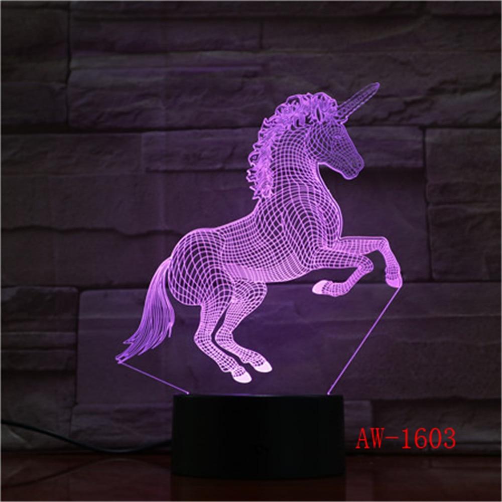 Lamp Light Night Unicorn