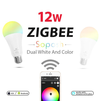 ZIGBEE Bulb E27 12W E26 Zigbee Lamp RGB CCT Dual White ... on status light, loop light, top light,
