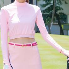 T-Shirt Apparel Sport-Clothing Golf Summer UV Women Sunscreen Ice Long-Sleeve Outdoor