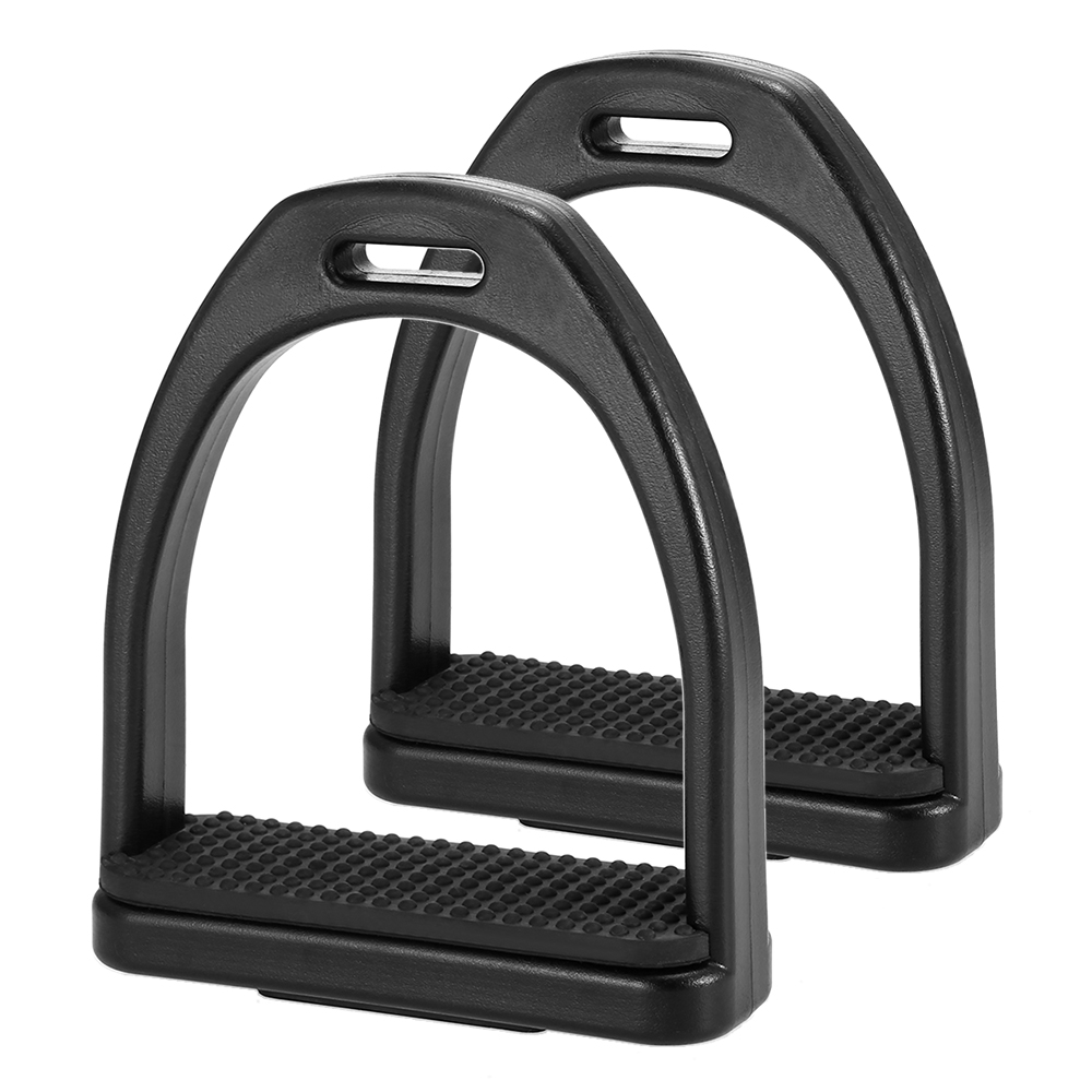 2 PCS Horse Riding Stirrups Plastic Horse Saddle Anti Skid Horse Pedal Super Lightweight Equestrian Safety Equipment