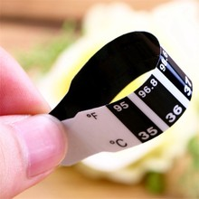 Infant Thermometers paste child Fever Forehead Strip Head Temperature Test Thermometer Sticker termometr