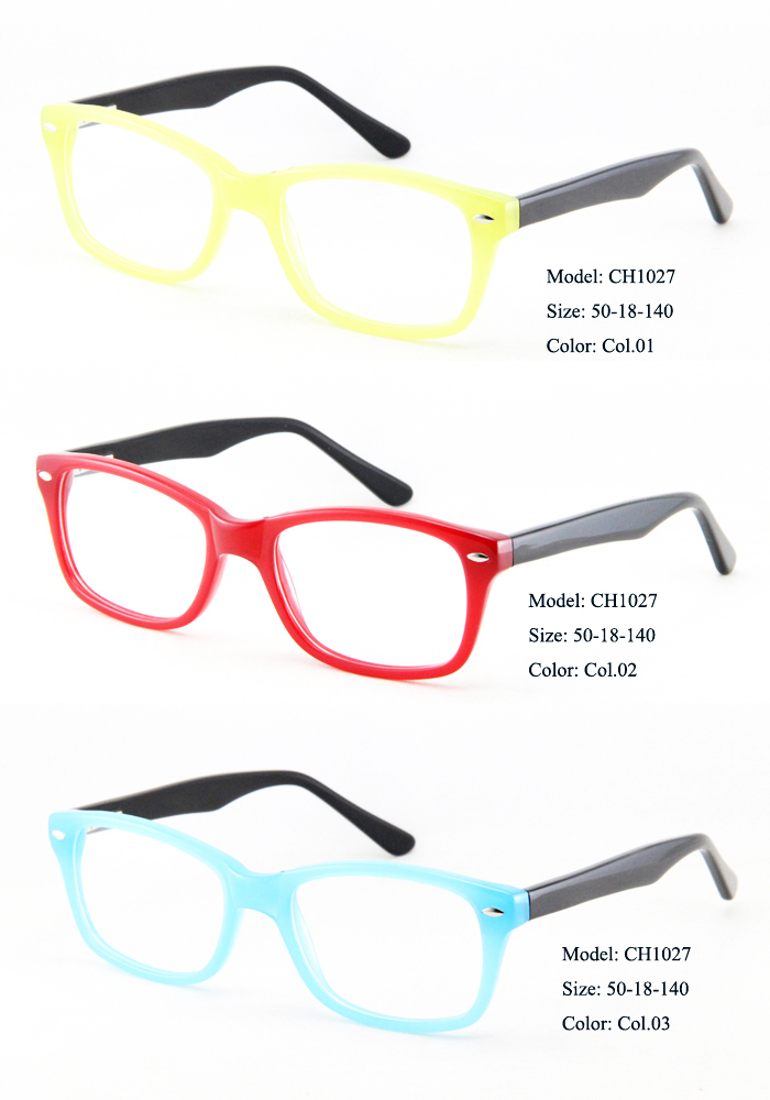 Wholesale High Quality Handsome Acetate Optical Frames and Metal ...